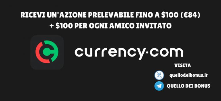 Currency bonus