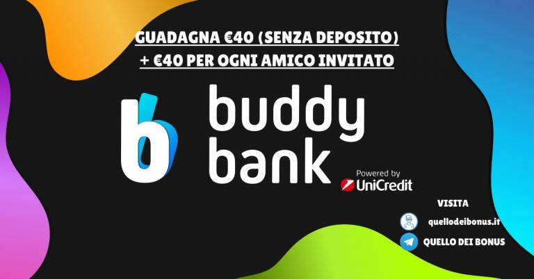 Buddybank bonus
