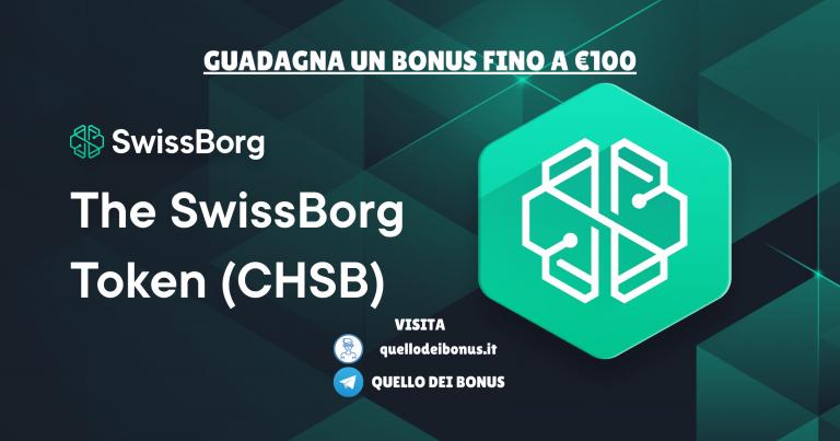 Swissborg 100 euro bonus