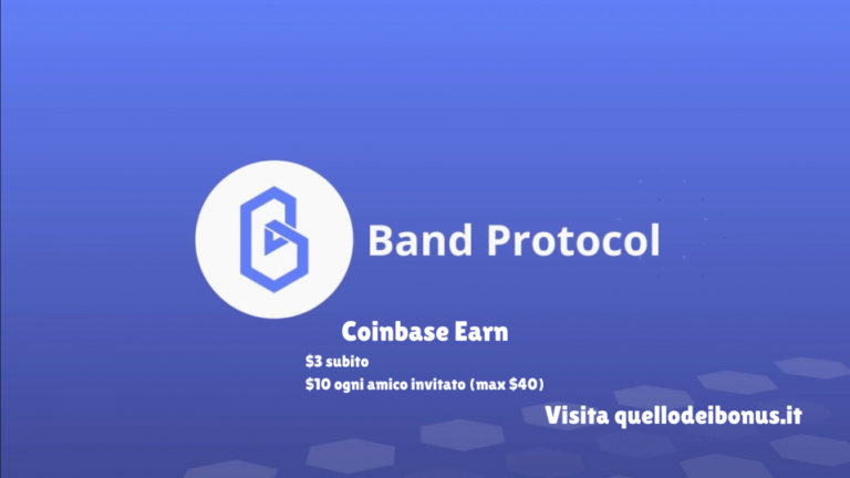 Coinbase Earn Band