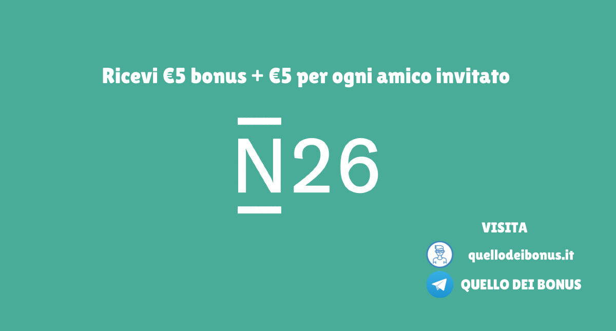 N26 bonus