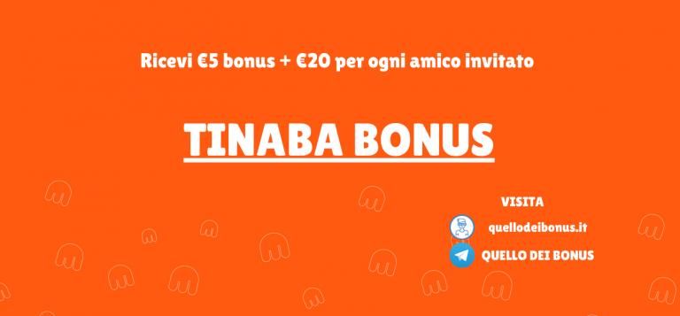 Tinaba bonus anteprima