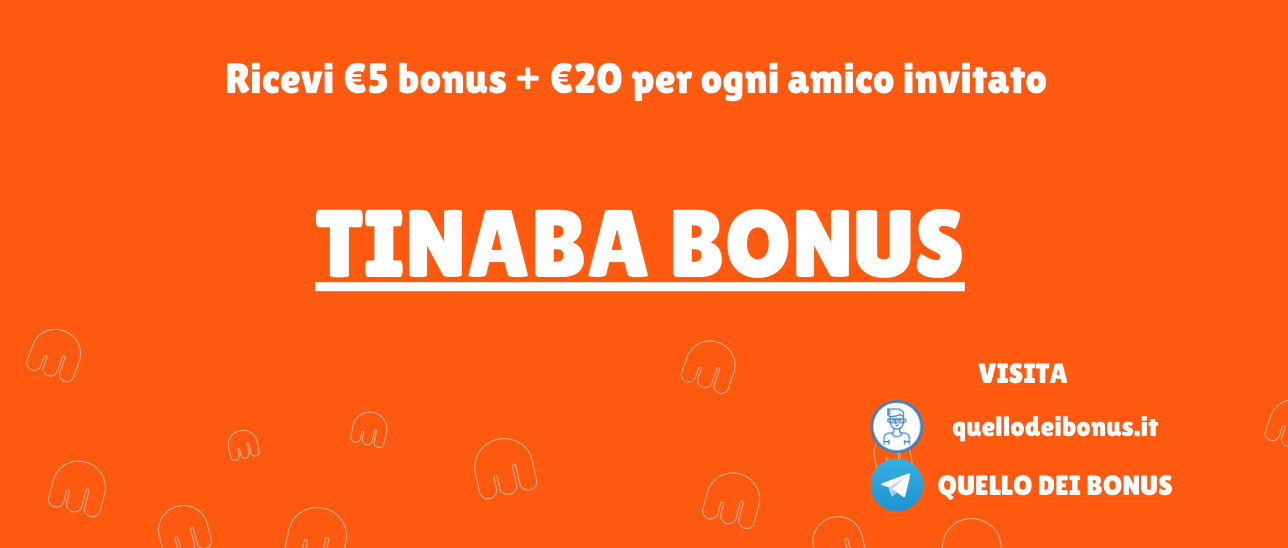 Tinaba Bonus