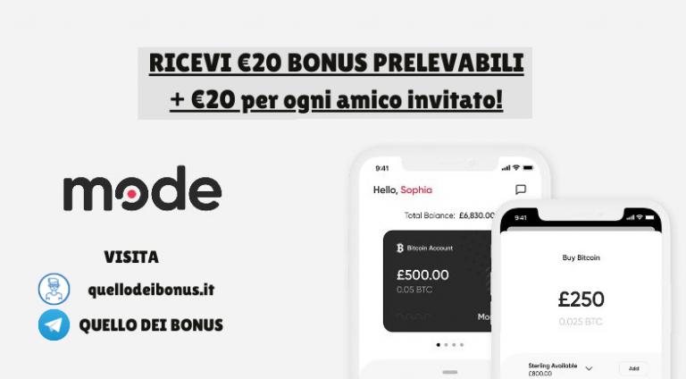 Mode bonus