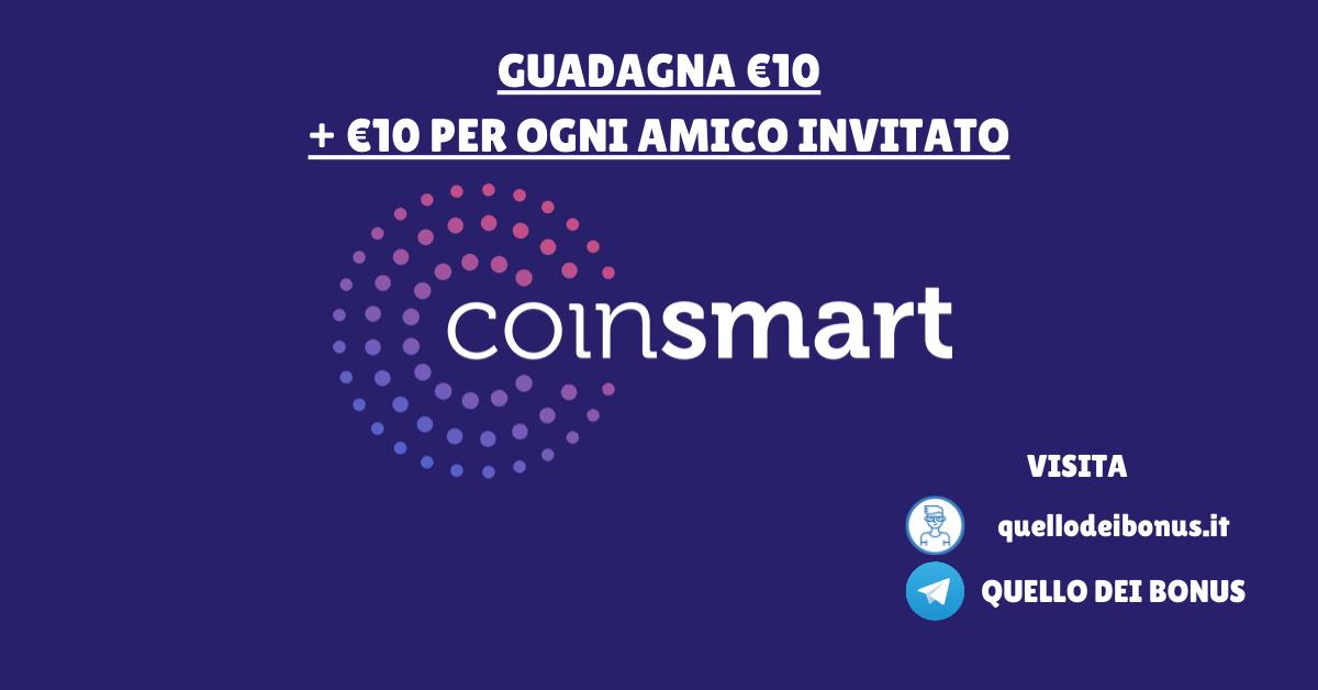Coinsmart bonus